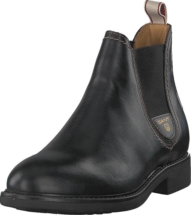 Gant Lydia Chelsea Black, Kengät, Bootsit, Chelsea boots, Musta, Naiset, 40