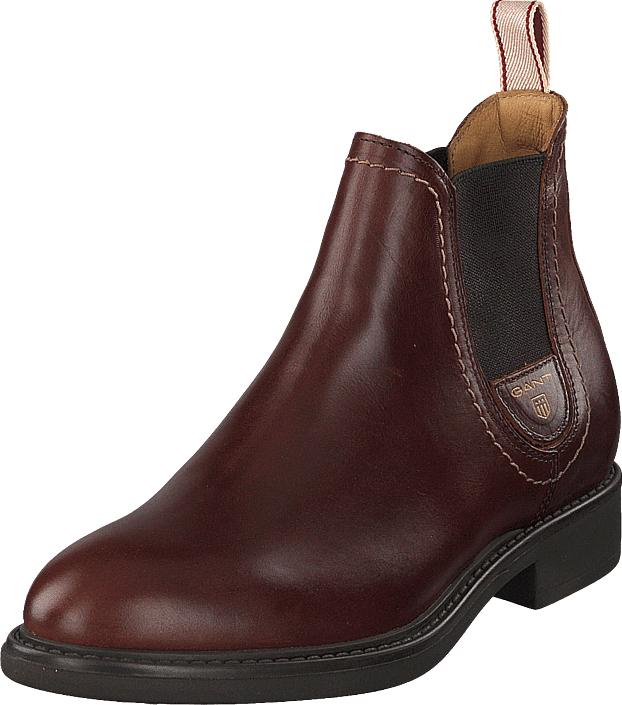 Gant Lydia Chelsea Sienna Brown, Kengät, Bootsit, Chelsea boots, Ruskea, Naiset, 39