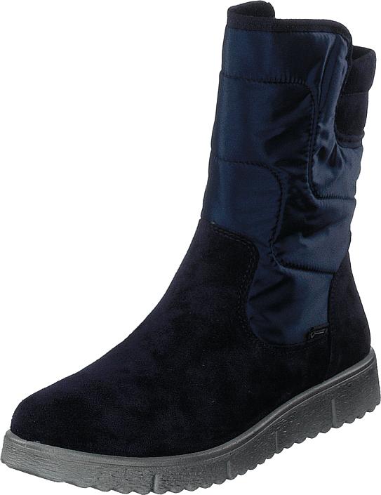Superfit Lora Gore-tex® Blue, Kengät, Bootsit, Korkeavartiset bootsit, Sininen, Unisex, 32