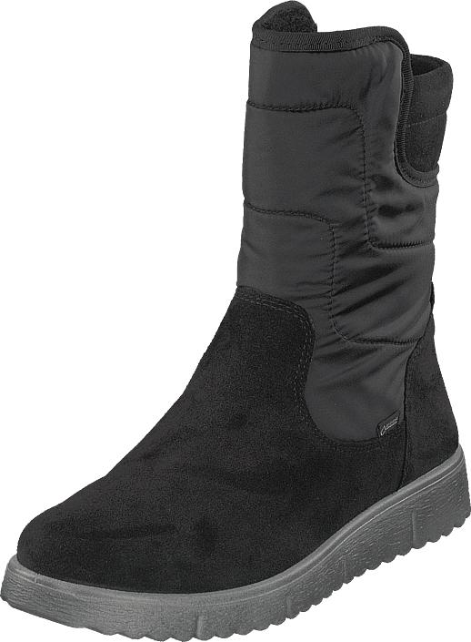 Superfit Lora Gore-tex® Black, Kengät, Bootsit, Korkeavartiset bootsit, Harmaa, Unisex, 38