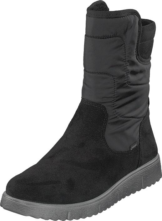 Superfit Lora Gore-tex® Black, Kengät, Bootsit, Korkeavartiset bootsit, Harmaa, Unisex, 35