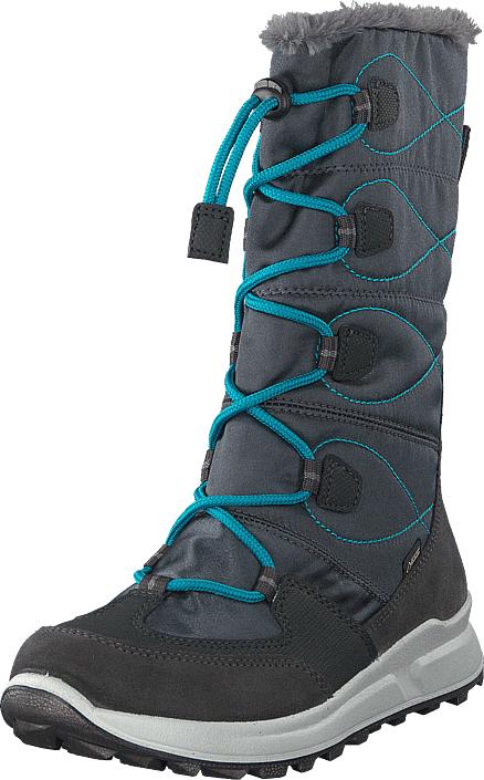 Superfit Merida Gore-tex® Grey/blue, Kengät, Bootsit, Lämminvuoriset kengät, Harmaa, Unisex, 32