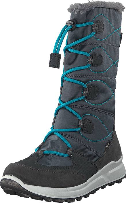 Superfit Merida Gore-tex® Grey/blue, Kengät, Bootsit, Lämminvuoriset kengät, Harmaa, Unisex, 34