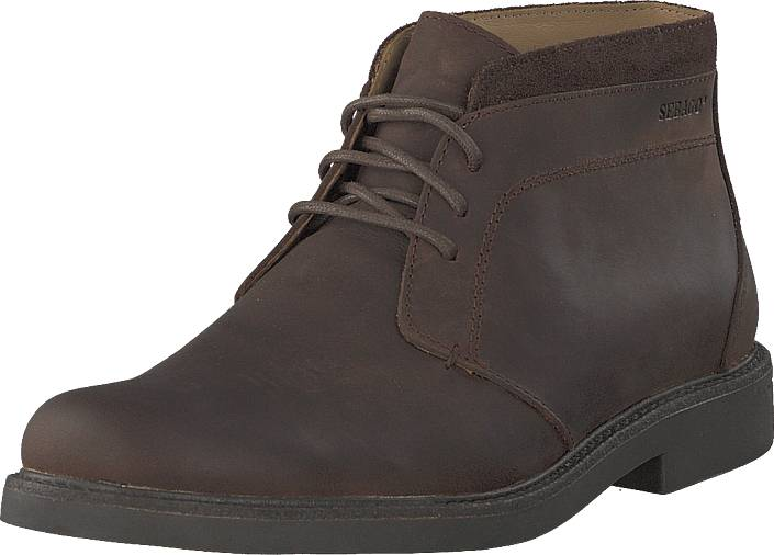 Sebago Turner Chukka Brown, Kengät, Bootsit, Chukka boots, Ruskea, Miehet, 45