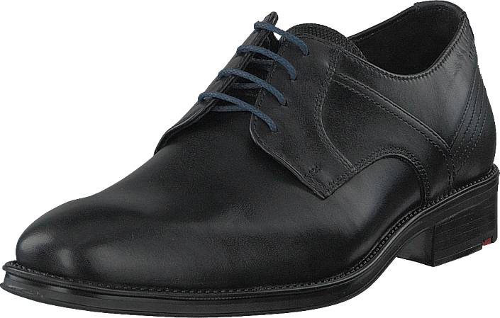 Lloyd Gala Black/midnight, Kengät, Matalapohjaiset kengät, Juhlakengät, Musta, Miehet, 41