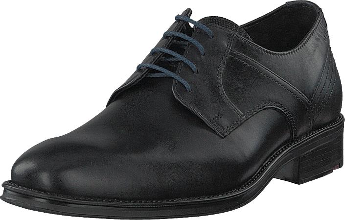 Lloyd Gala Black/midnight, Kengät, Matalapohjaiset kengät, Juhlakengät, Musta, Miehet, 43