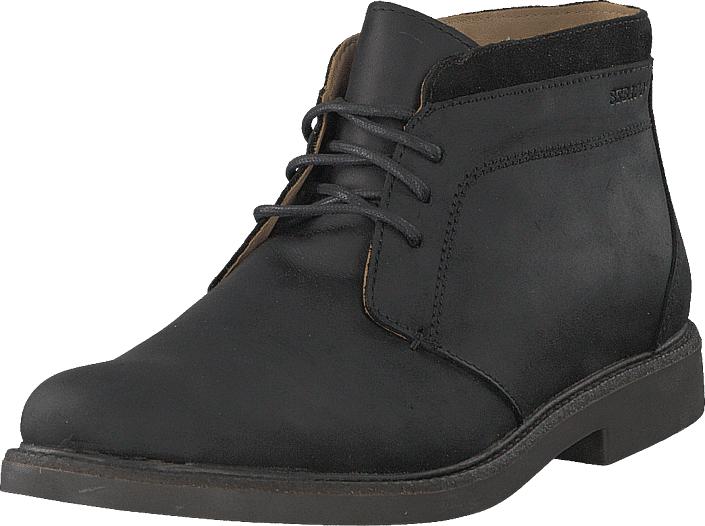 Sebago Turner Chukka Black, Kengät, Bootsit, Chelsea boots, Harmaa, Musta, Miehet, 44