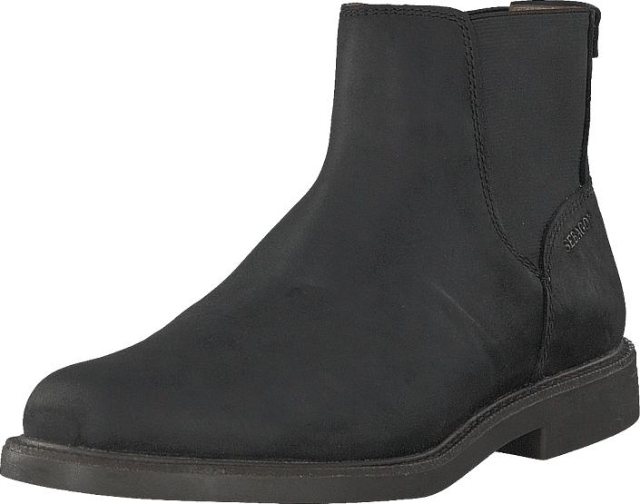Sebago Turner Chelsea Black, Kengät, Bootsit, Chelsea boots, Musta, Miehet, 44