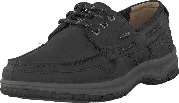 Sebago Brice Wp Black, Kengät, Matalapohjaiset kengät, Juhlakengät, Musta, Miehet, 43