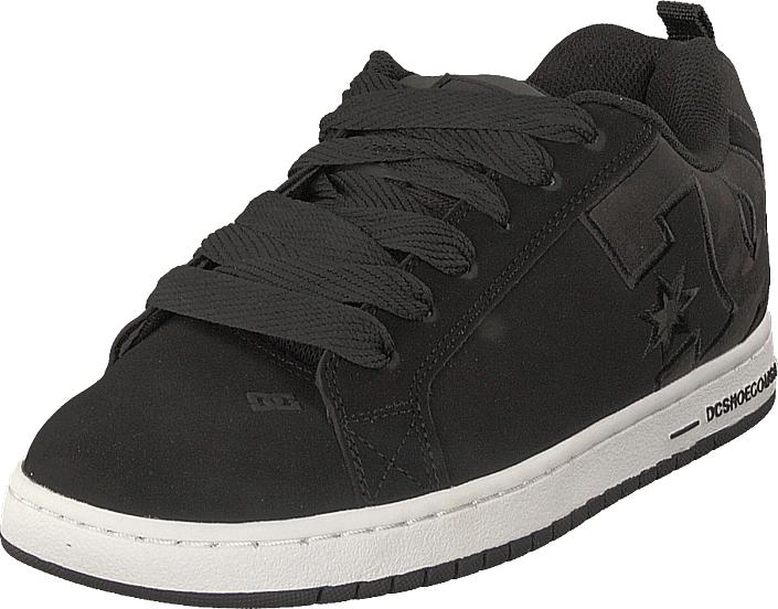 DC Shoes Court Graffik Se Black Camo, Kengät, Sneakerit ja urheilukengät, Chukka Sneakerit, Musta, Miehet, 44