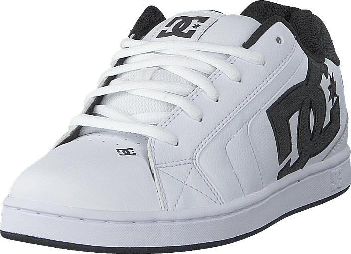 DC Shoes Net White/white/black, Kengät, Sneakerit ja urheilukengät, Chukka Sneakerit, , Miehet, 40
