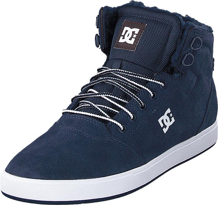 DC Shoes Crisis High Wnt Navy/khaki, Kengät, Sneakerit ja urheilukengät, Korkeavartiset tennarit, Sininen, Miehet, 42