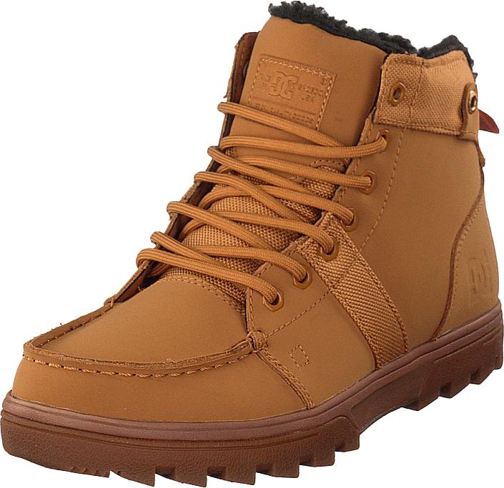 DC Shoes Woodland Shoe Wheat/black, Kengät, Bootsit, Kengät, Oranssi, Punainen, Miehet, 42