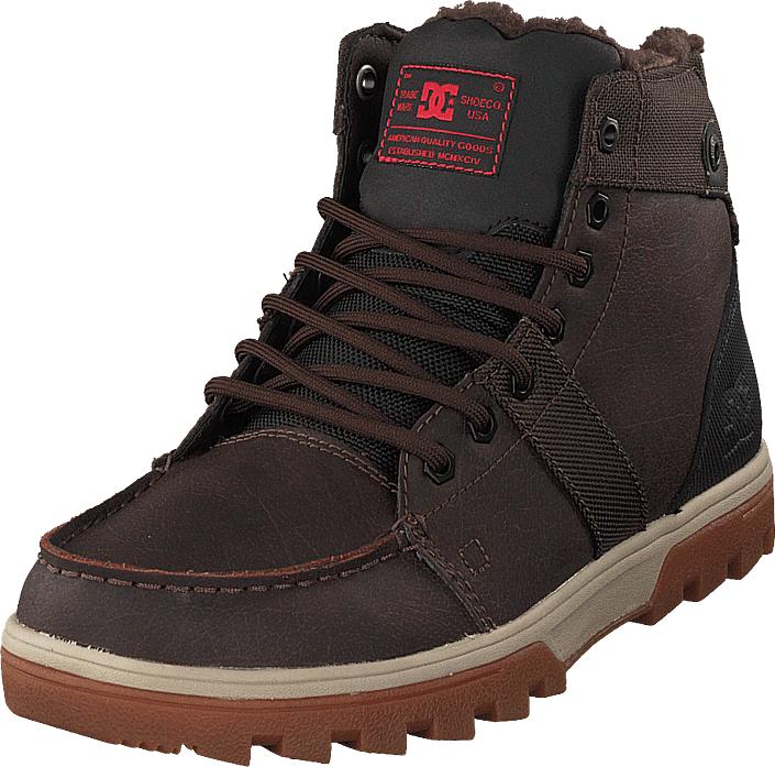 DC Shoes Woodland Shoe Brown/green/black, Kengät, Bootsit, Kengät, Musta, Miehet, 40