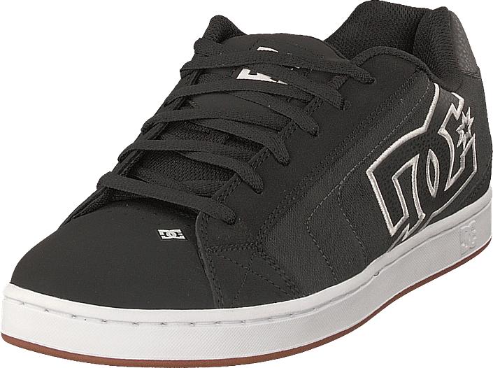 DC Shoes Net Se Black/herringbone, Kengät, Sneakerit ja urheilukengät, Chukka Sneakerit, Harmaa, Miehet, 41