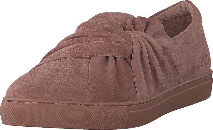 Dasia Daylily Slip-on Bow Pink/pink, Kengät, Matalapohjaiset kengät, Slip on, Ruskea, Naiset, 42