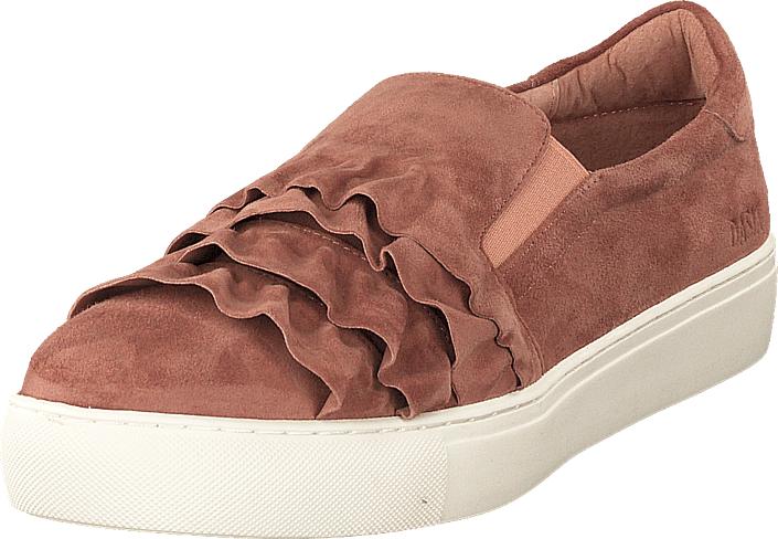 Dasia Starlily Frill Pink, Kengät, Matalapohjaiset kengät, Kävelykengät, Vaaleanpunainen, Naiset, 40