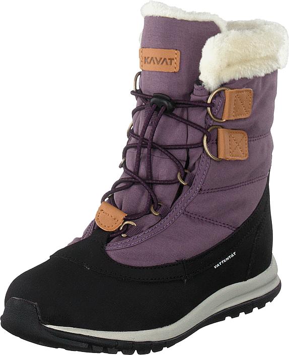 Kavat Idre Wp Purple, Kengät, Bootsit, Lämminvuoriset kengät, Violetti, Unisex, 27