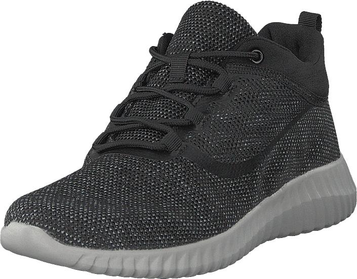 Polecat 438-0901 Black, Kengät, Sneakerit ja urheilukengät, Korkeavartiset tennarit, Musta, Unisex, 41