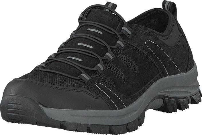 Polecat 435-3111 Comfort Sock Black, Kengät, Sneakerit ja urheilukengät, Tennarit , Musta, Naiset, 40