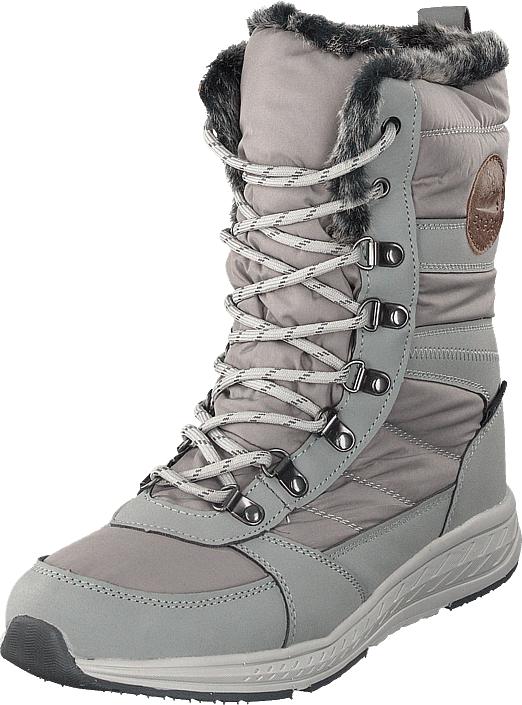 Polecat 430-9473 Waterproof Warm Lined Grey, Kengät, Bootsit, Lämminvuoriset kengät, Harmaa, Naiset, 37