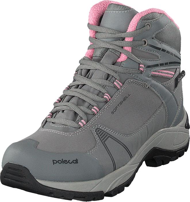 Polecat 430-3367 Waterproof Warm Lined Grey, Kengät, Bootsit, Vaelluskengät, Harmaa, Naiset, 38
