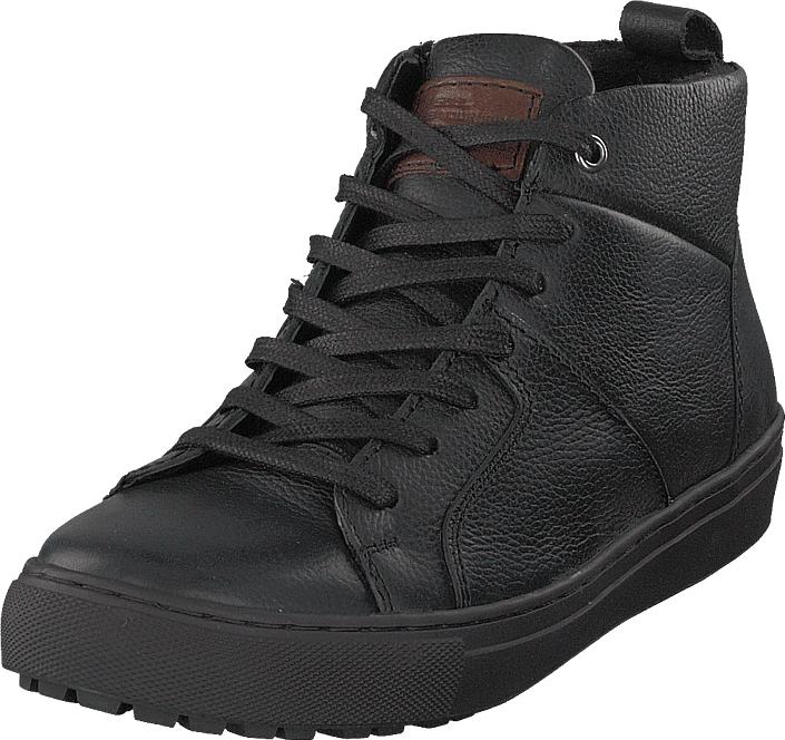 Senator 451-6601 Premium Warm Lining Black, Kengät, Sneakerit ja urheilukengät, Korkeavartiset tennarit, Harmaa, Miehet, 43