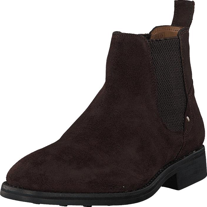 Senator 451-1531 Premium Dark Brown, Kengät, Bootsit, Chelsea boots, Ruskea, Miehet, 43