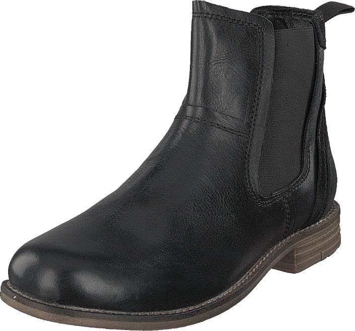 Senator 451-4959 Premium Black, Kengät, Bootsit, Chelsea boots, Musta, Miehet, 42