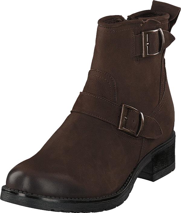Duffy 56-35012 Brown, Kengät, Bootsit, Korkeavartiset bootsit, Ruskea, Naiset, 40