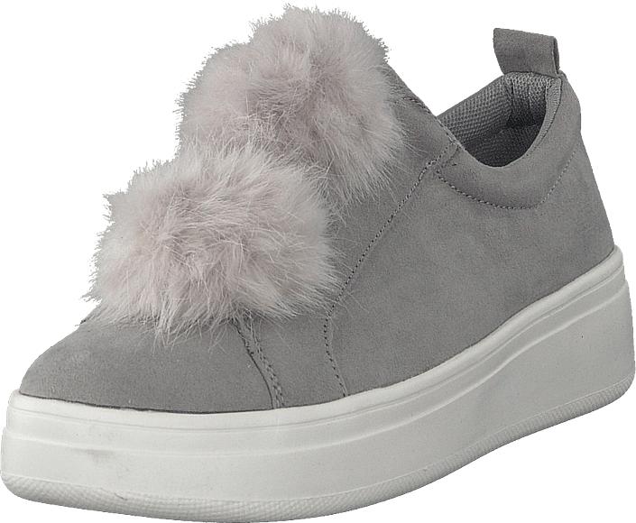 Duffy 73-41977 Grey, Kengät, Matalapohjaiset kengät, Slip on, Harmaa, Naiset, 37