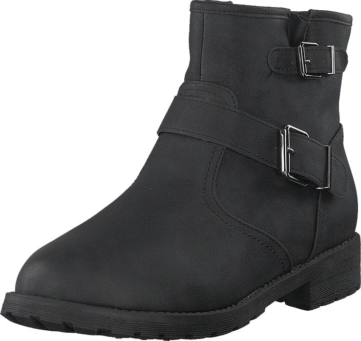 Duffy 86-76501 Black, Kengät, Bootsit, Korkeavartiset bootsit, Harmaa, Unisex, 35
