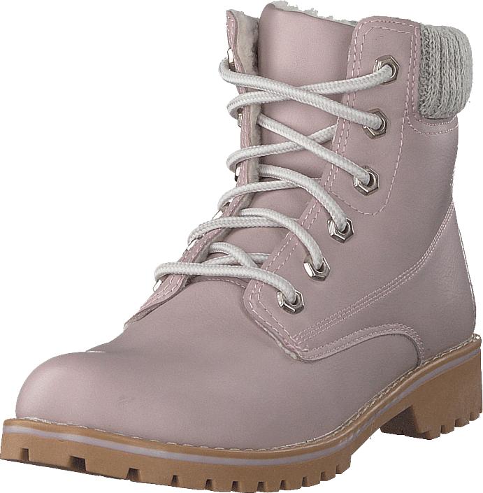 Duffy 98-05499 Light Pink, Kengät, Bootsit, Kengät, Ruskea, Naiset, 37