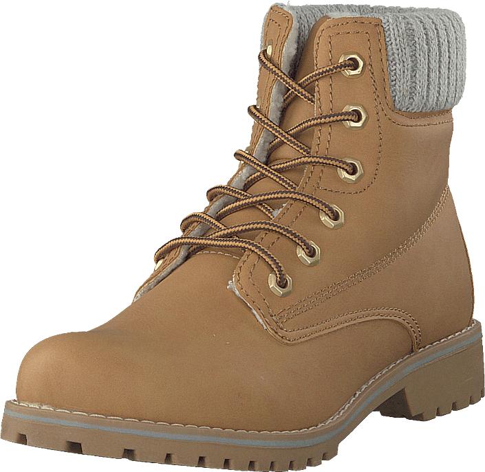 Duffy 98-05499 Camel, Kengät, Bootsit, Kengät, Ruskea, Naiset, 36