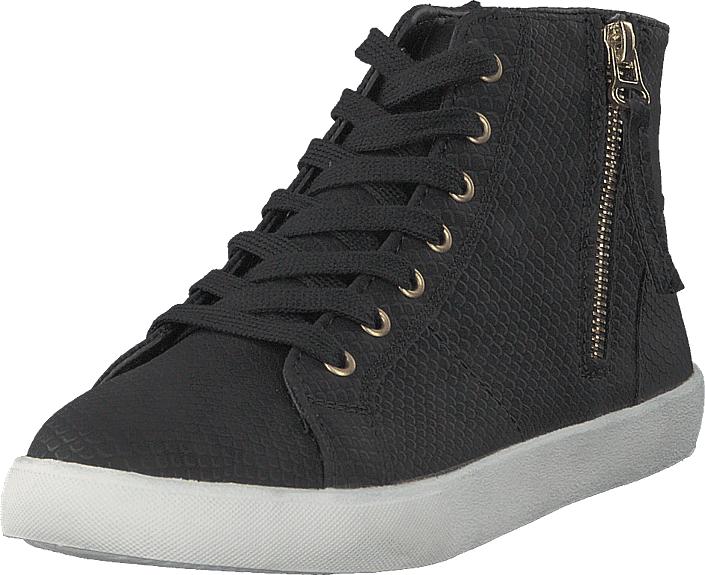 Duffy 73-41698 Black, Kengät, Sneakerit ja urheilukengät, Korkeavartiset tennarit, Musta, Unisex, 39