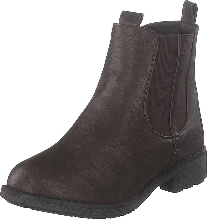 Duffy 86-22006 Brown, Kengät, Bootsit, Chelsea boots, Ruskea, Naiset, 37