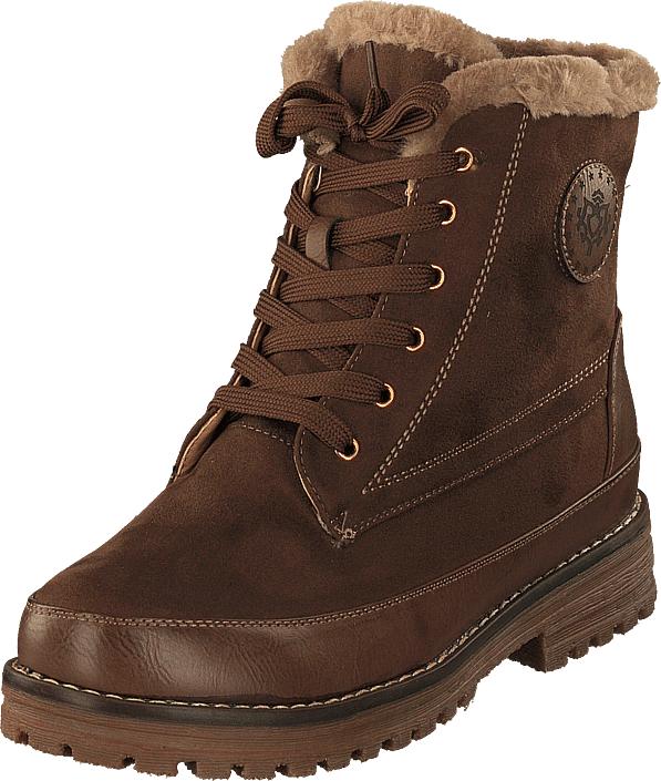 Duffy 71-02131 Khaki, Kengät, Bootsit, Kengät, Ruskea, Naiset, 38