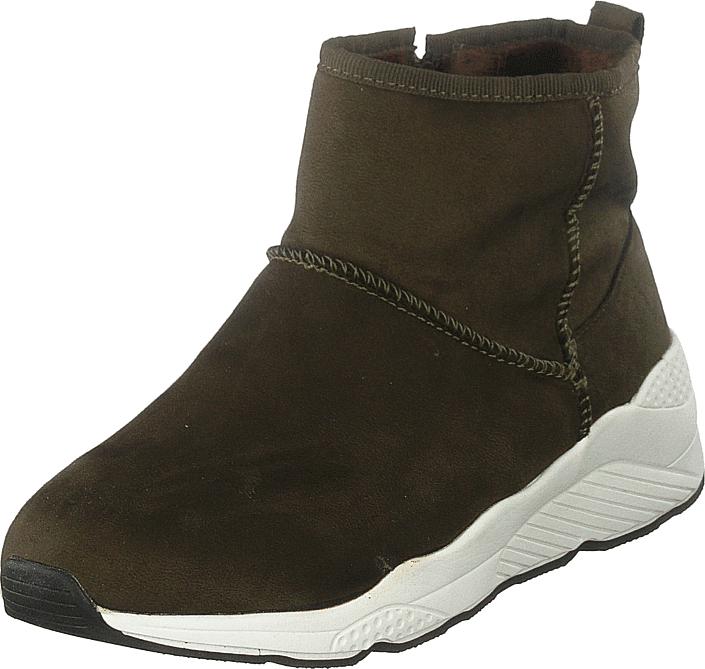 Duffy 84-01650 Khaki, Kengät, Bootsit, Chelsea boots, Vihreä, Ruskea, Naiset, 36