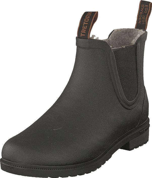 Tretorn Chelsea Classic Winter Black, Kengät, Bootsit, Chelsea boots, Harmaa, Unisex, 43