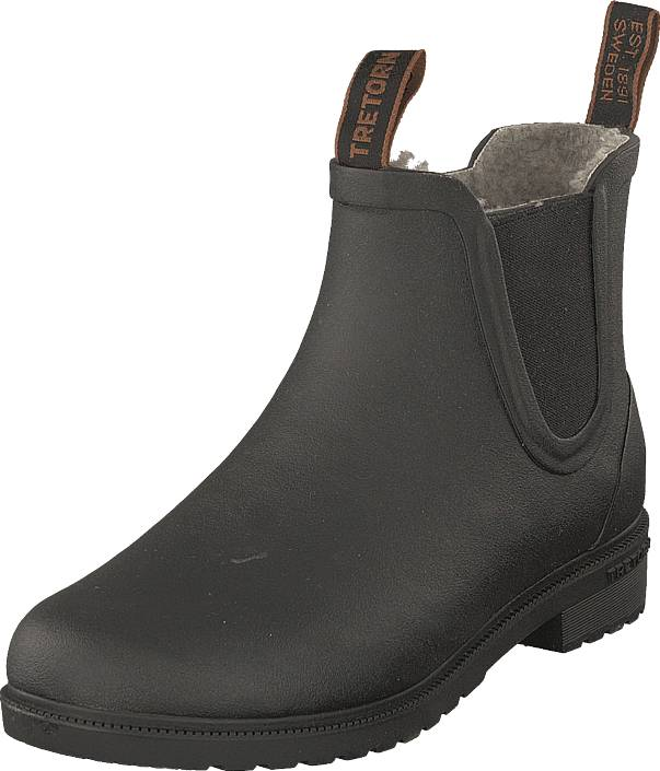 Tretorn Chelsea Classic Winter Black, Kengät, Bootsit, Chelsea boots, Harmaa, Unisex, 36