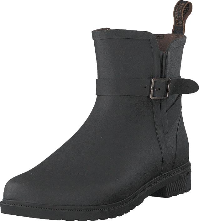 Tretorn Meadow Black, Kengät, Bootsit, Korkeavartiset bootsit, Harmaa, Unisex, 39