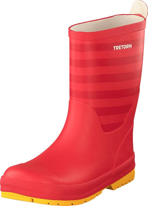 Tretorn Gränna Red/red, Kengät, Saappaat ja saapikkaat, Kumisaappaat, Punainen, Unisex, 33