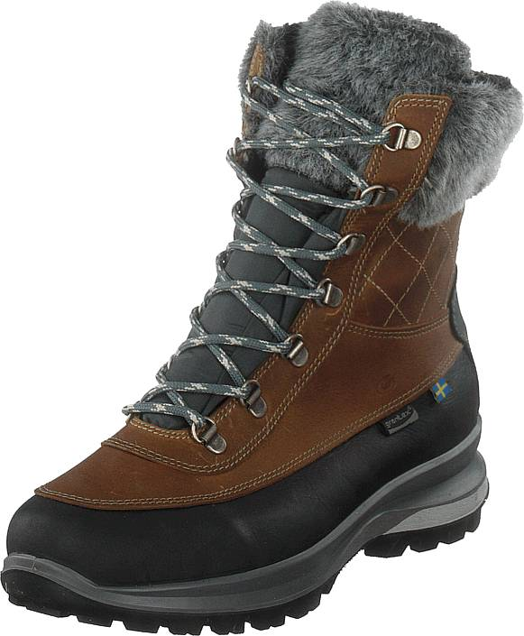 Graninge 561421-04 Brown, Kengät, Bootsit, Lämminvuoriset kengät, Ruskea, Naiset, 41