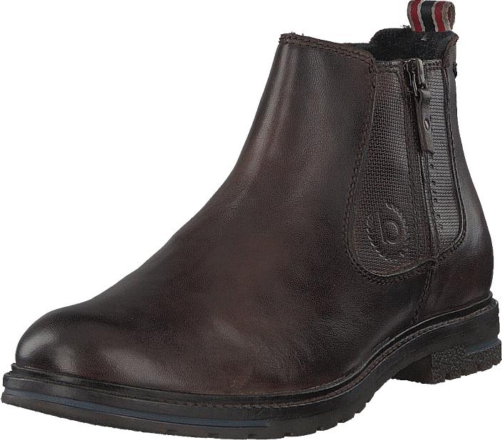 Bugatti Ringo Ii Darkbrown6100, Kengät, Bootsit, Chelsea boots, Ruskea, Miehet, 43