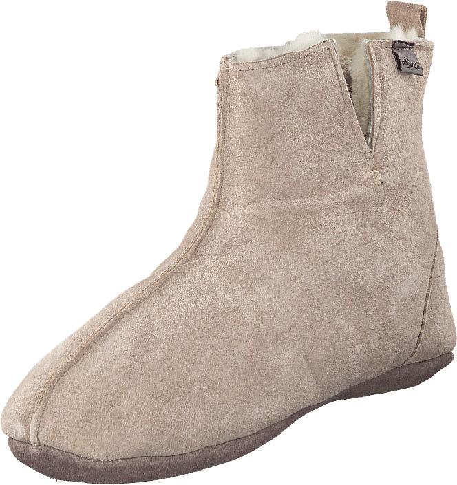 Axelda Riga Sand, Kengät, Bootsit, Chelsea boots, Beige, Naiset, 39