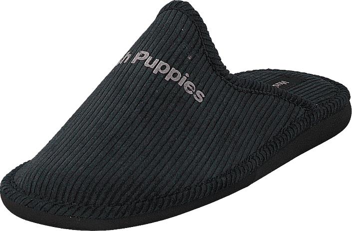 Hush Puppies Slipper Black, Kengät, Sandaalit ja tohvelit, Tohvelit, Musta, Miehet, 43