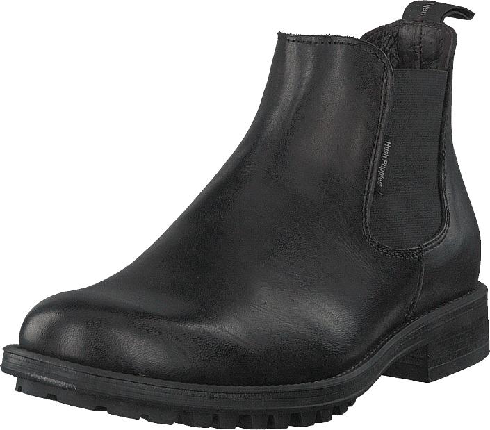 Hush Puppies Chelsea Black, Kengät, Bootsit, Chelsea boots, Musta, Miehet, 45