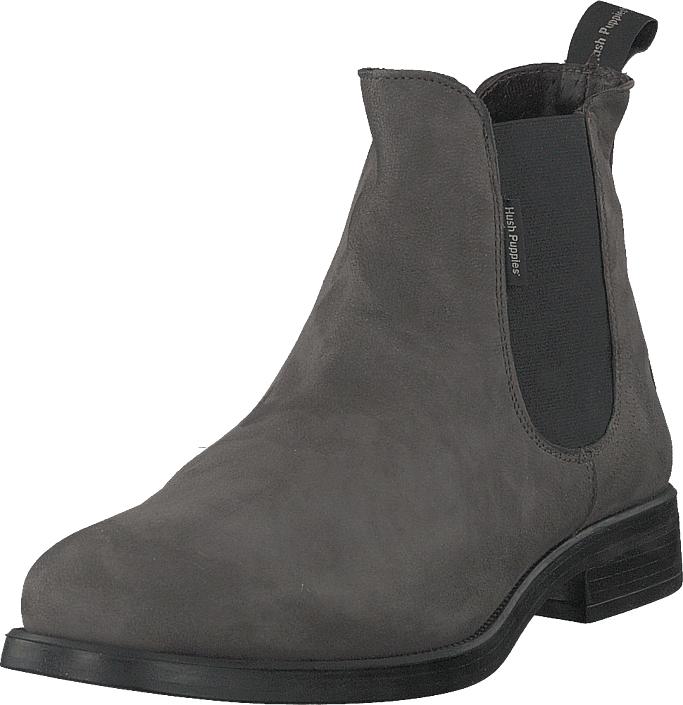 Hush Puppies Chelsea Grey, Kengät, Bootsit, Chelsea boots, Harmaa, Naiset, 37