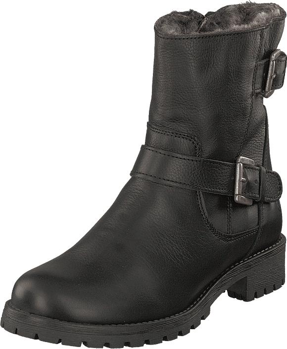 Tamaris 26996-001 Black, Kengät, Bootsit, Korkeavartiset bootsit, Harmaa, Musta, Naiset, 36