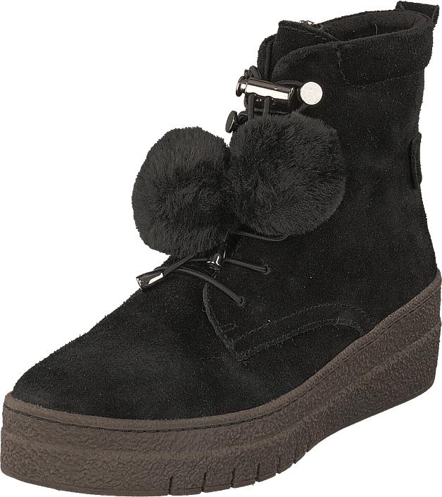 Tamaris 26270-001 Black, Kengät, Bootsit, Kengät, Musta, Naiset, 36